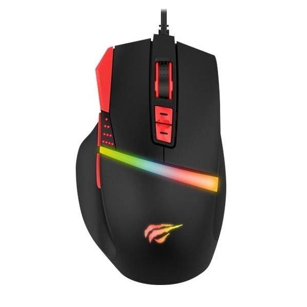 Havit Gaming Mouse med RGB, 8200DPI