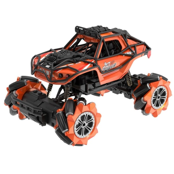 JJRC 2.4G 1:18 12-CH RC Stunt Car, Orange