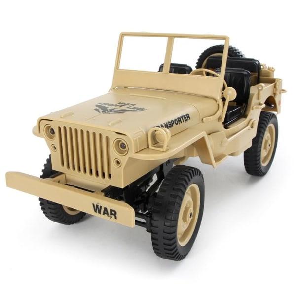 JJRC Q65 Off-road Militärbil, 2.4G, 1:10