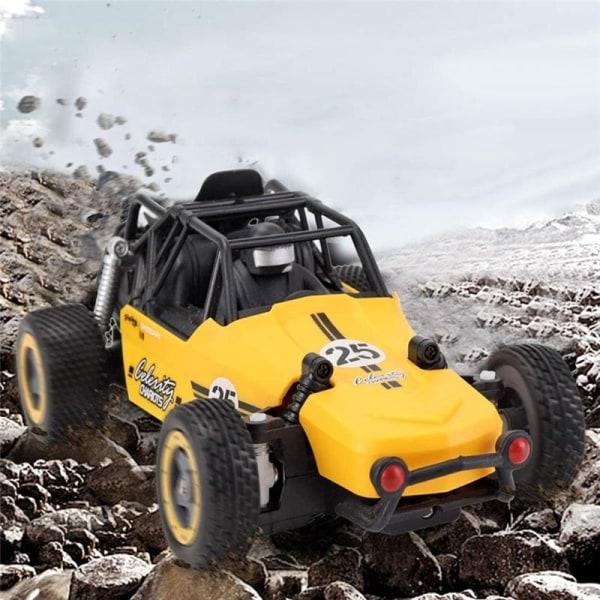 JJRC Q73 1:20 2.4G RC Racingbil, Gul