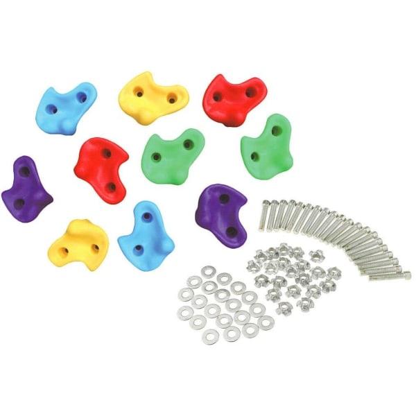Klättergrepp/Klätterstenar och fästpunkter, 10-pack