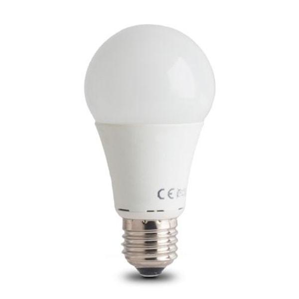 LED-lampa E27 A60 7W RGB (3W) + (7W) Med Fjärrkontroll Vit
