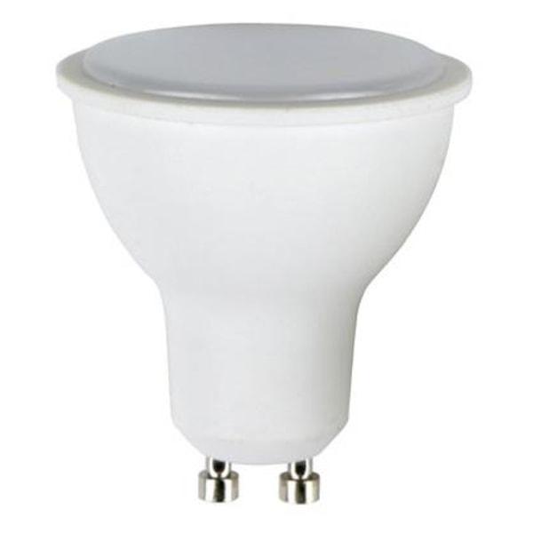 LED-lampa GU10, 8W, 230v, Varmvit