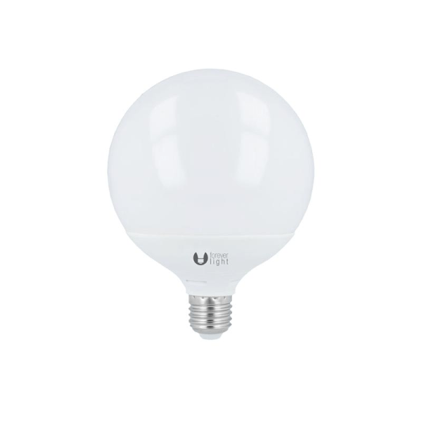 LED-Lampa Klot E27 G120 15W 230V Vit Neutral, 4000K