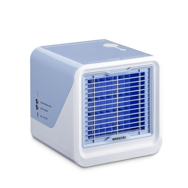 NORDIQZENZ Easy Air Cooler Cube - Luftkylare, renare, fuktare