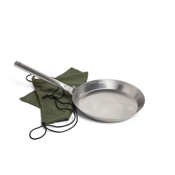 Orrefors Hunting, hopvikbar stekpanna, rostfritt stål