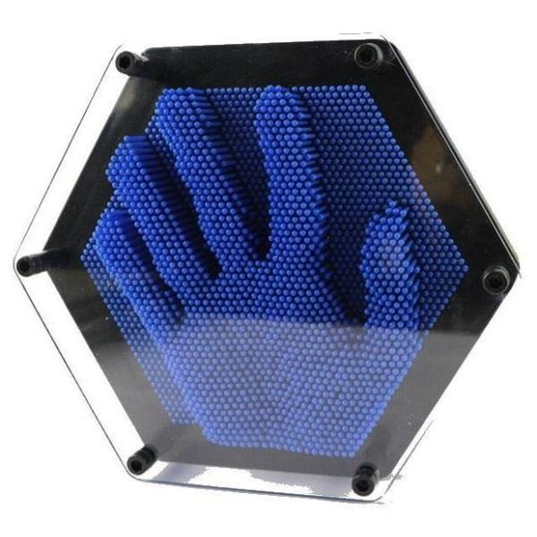 Pinart - Tredimensionell Stiftskulptur, Blå