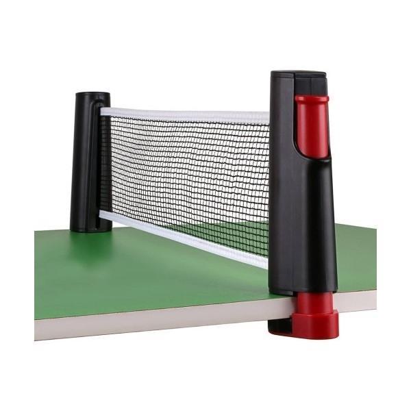 Portabelt pingisset inkl. nät, 3st bollar och 2st racketar