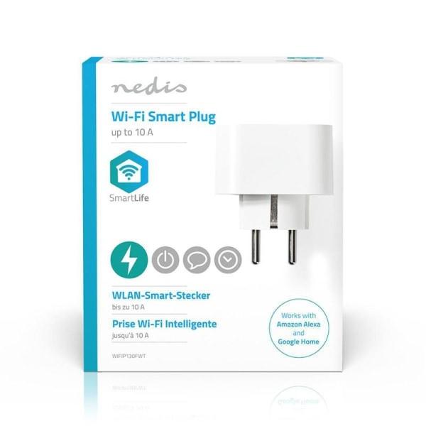 Smart plugg, WiFi | Schuko typ F | 10A