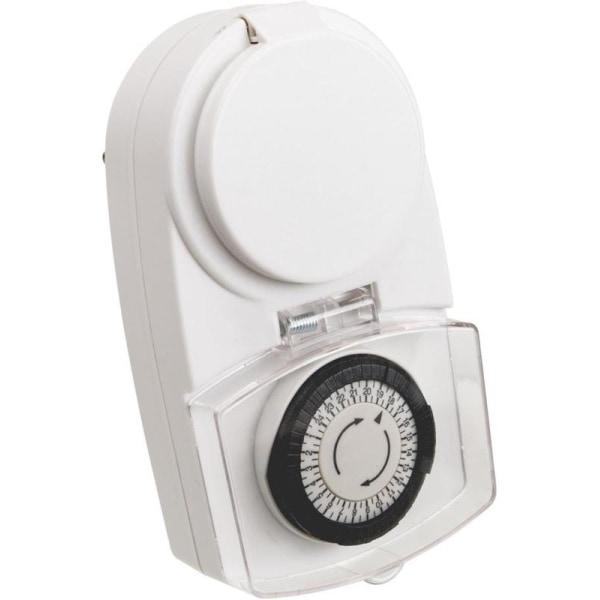 Smartline Utomhustimer, 24tim, Jordad, IP44