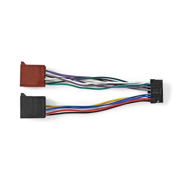 Sony 16-stifts ISO-kabel | Radiokontakt - 2x bilkontakt | 0.15 m