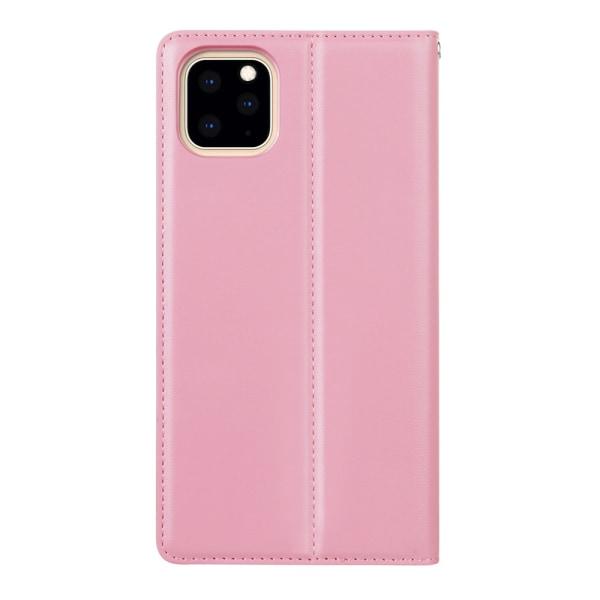Genomtänkt Stilsäkert Plånboksfodral - iPhone 11 Pro Max Lila
