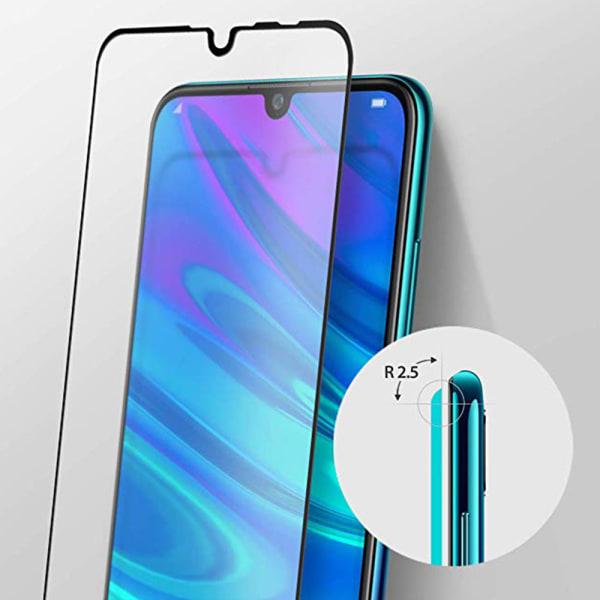 Huawei Y6 2019 Skärmskydd 2.5D 3-PACK med Ram HD-Clear ProGuard Svart