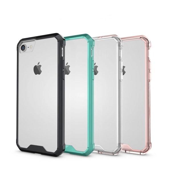 NYHET! Exklusivt Stilrent Hybridskal till iPhone 7 Plus FLOVEME Rosa