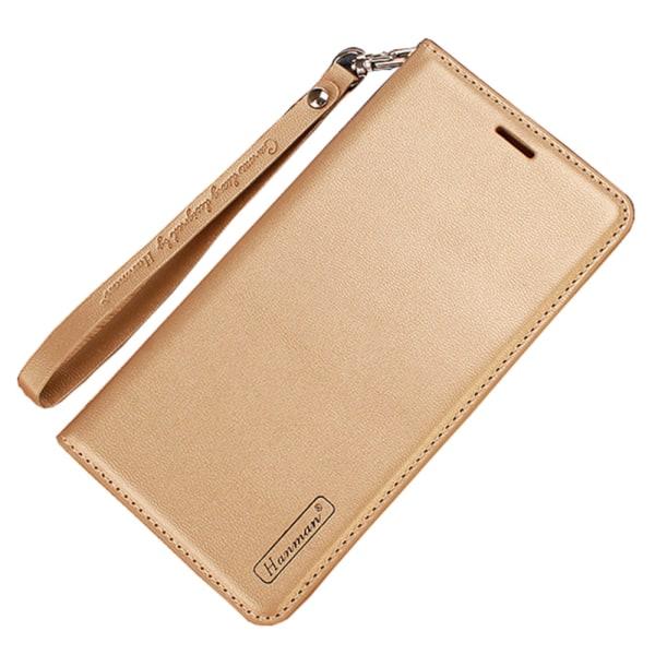 Skyddande Robust Plånboksfodral - Samsung Galaxy A40 Svart