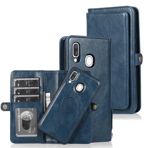 Genomtänkt Plånboksfodral - Samsung Galaxy A40 Röd