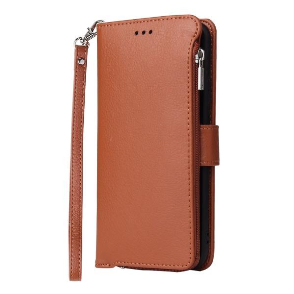 Samsung Galaxy A51 - Genomtänkt Plånboksfodral Brun