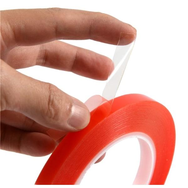 Dubbelhäftande tejp till mobiler/surfplattor (transparent) 1mm
