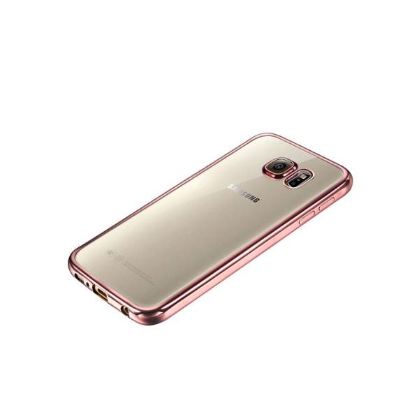 Elegant Skyddskal i metallfinish för Samsung Galaxy S7 Grå