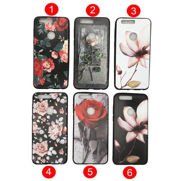 Huawei Honor 8 -Skyddande Blomsterskal 3