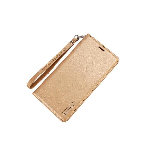 Huawei Honor 9 - Plånboksfodral i PU-Läder av Hanman Roséguld