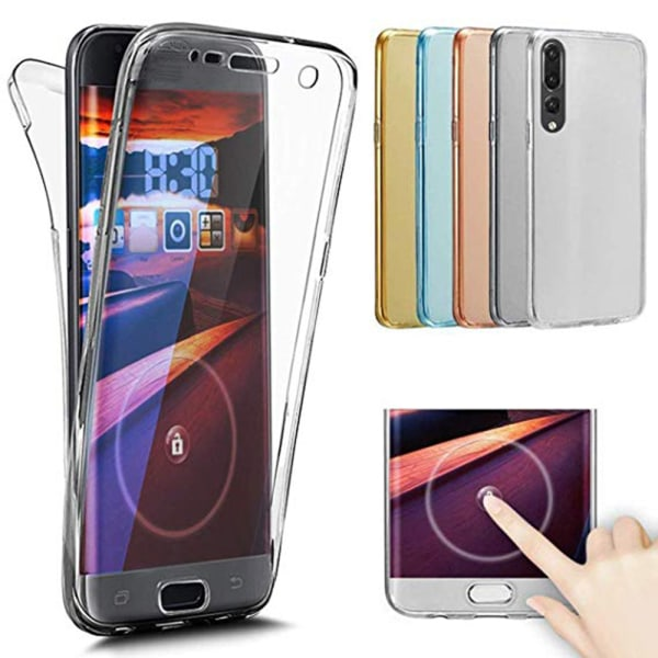 Huawei P20 Pro - Silikonskal med Touchsensor (NORTH) Transparent/Genomskinlig