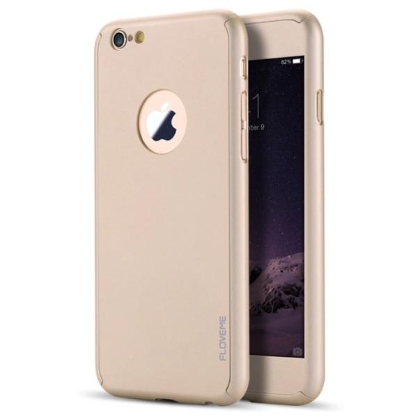 Stilrent Praktiskt Skyddsfodral för iPhone 7 (Screen Protector) Svart