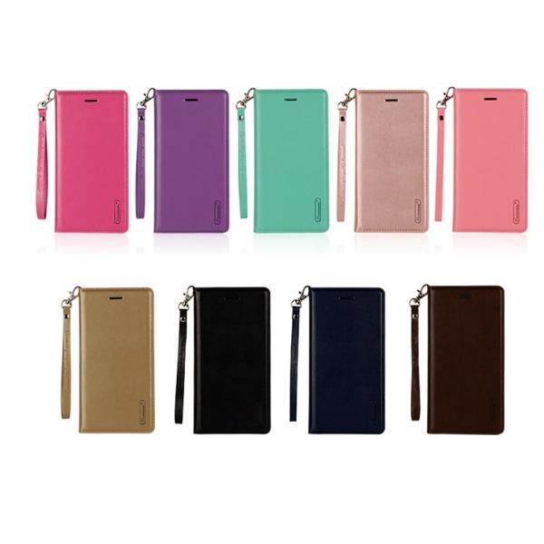 iPhone 7 Plus - Plånboksfodral i PU-Läder av Hanman Roséguld