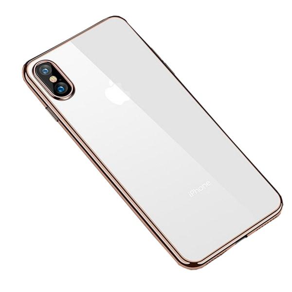 Skyddskal i Metallfinsh till iPhone XS Max Silver