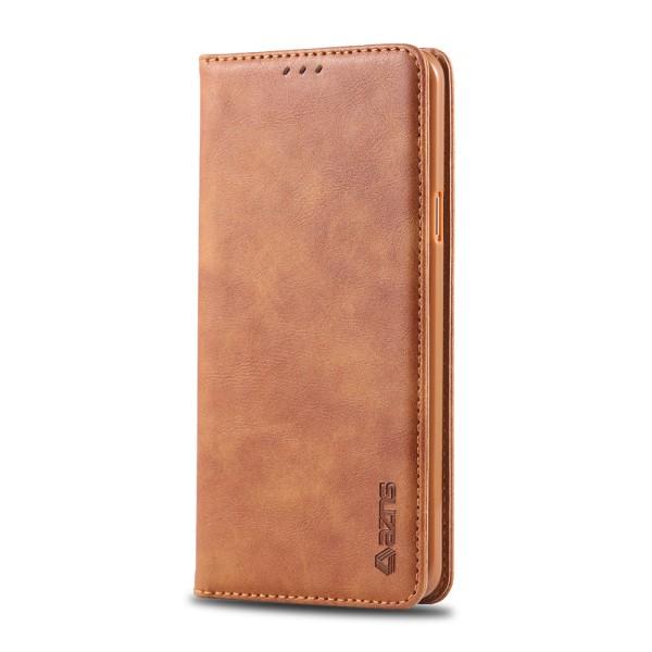 Plånboksfodral - Samsung Galaxy J4 Brun
