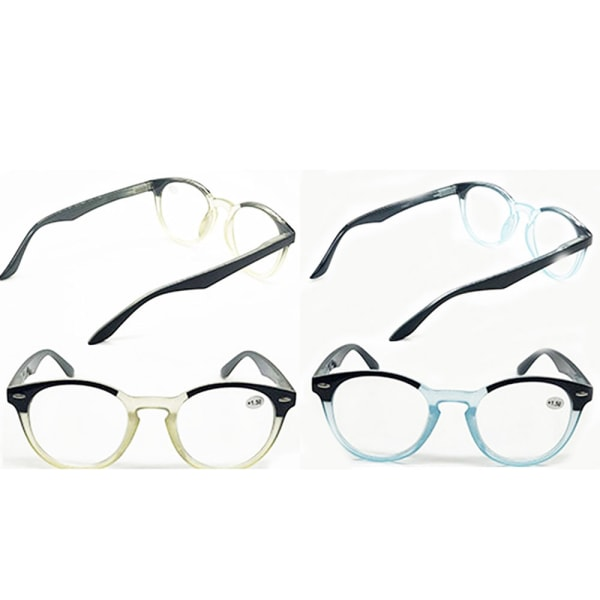 Läsglasögon BLÅ +2.0