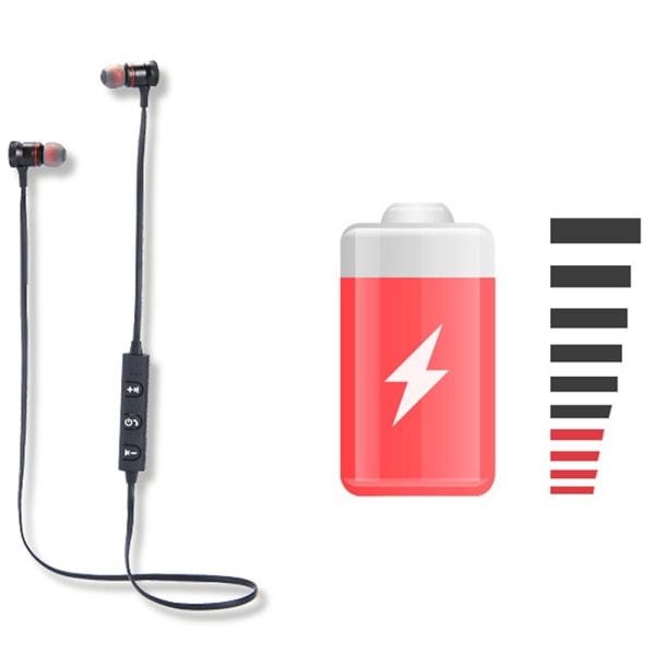 Trådlöst In-Ear Headset från Nkobee (M5-Sport) Röd
