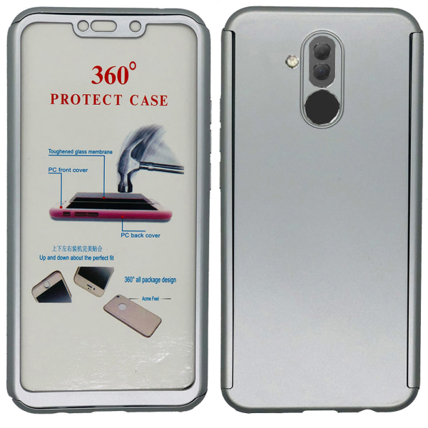 Stilsäkert Dubbelsidigt Skal - Huawei Mate 20 Lite Blå