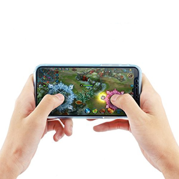 Silikonfodral med Touchsensor (Fram & Bak) Huawei Mate 20 lite Svart