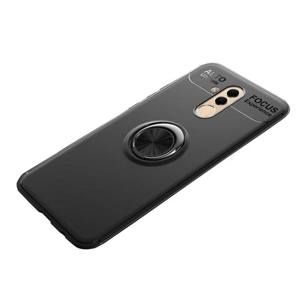 Skal med Ringhållare - Huawei Mate 20 Lite (AUTO FOCUS) Blå/Blå