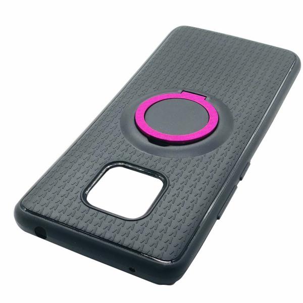 Stilrent Silikonskal med Ringhållare till Huawei Mate 20 Pro Grå