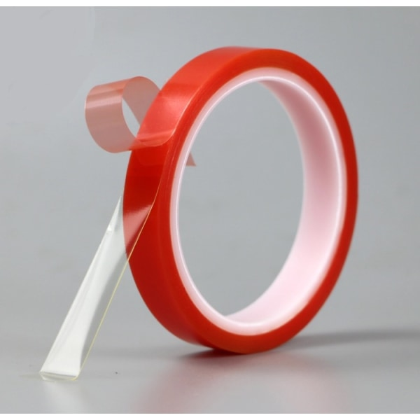 Dubbelhäftande tejp till mobiler/surfplattor (transparent) 5mm