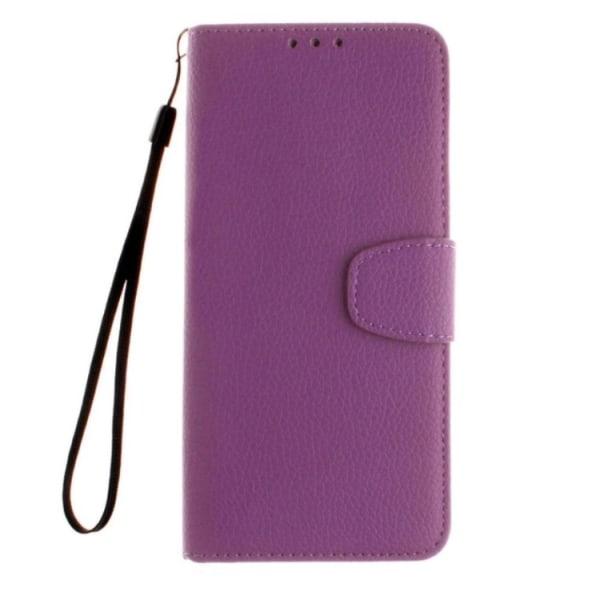 Huawei P10 Plus - Elegant Plånboksfodral kortfack, sedelfack Svart