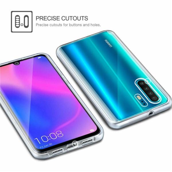 Skyddsskal i Silikon Heltäckande - Huawei P30 Pro Blå