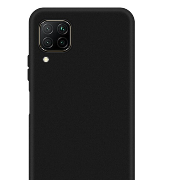 Huawei P40 Lite - Skyddande Stöttåligt Skal Svart