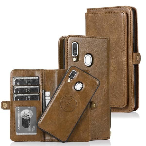 Samsung Galaxy A40 - Plånboksfodral Svart