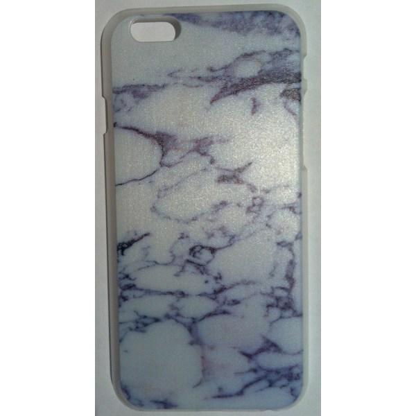 "Elegant Marmorskal för iPhone 6/6S (4.7"") Vit"