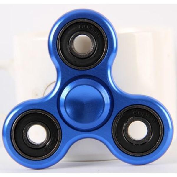 Fidget Spinner (Metallic Blå)