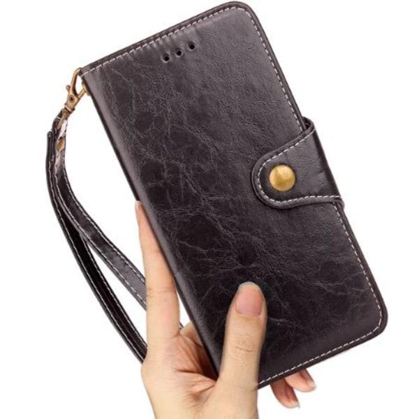 Stilren Svart Mobilplånbok (Samsung Galaxy S8)