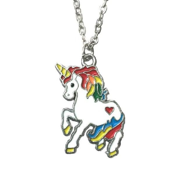 Choker - Unicorn - Färgglada multifärg