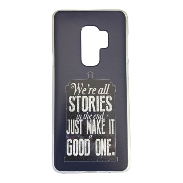 Samsung Galaxy S9 We´re all stories... Doctor Who Tardis Blå