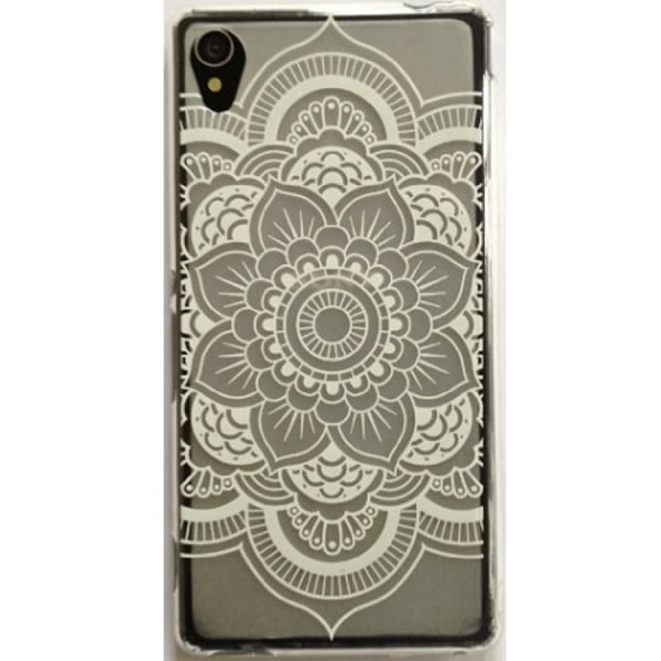 Sony Xperia X - Mandala - Henna - Vit Vit