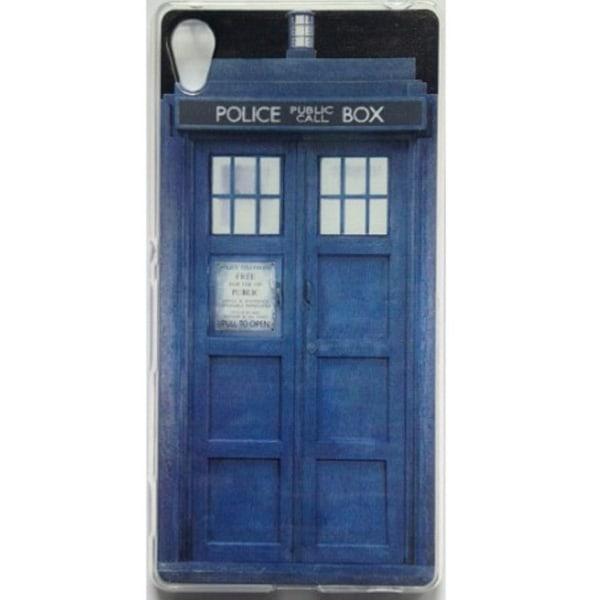 Sony Xperia X  - Tardis -  Doctor Who Blå