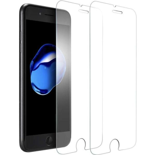 2-Pack - iPhone 6/7/8/SE(2020) Härdat Glas -Skärmskydd