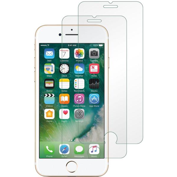 2-Pack - iPhone 6/6s - Härdat Glas Skärmskydd